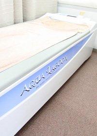 水圧マッサージベッド「アクアラグーン」の写真